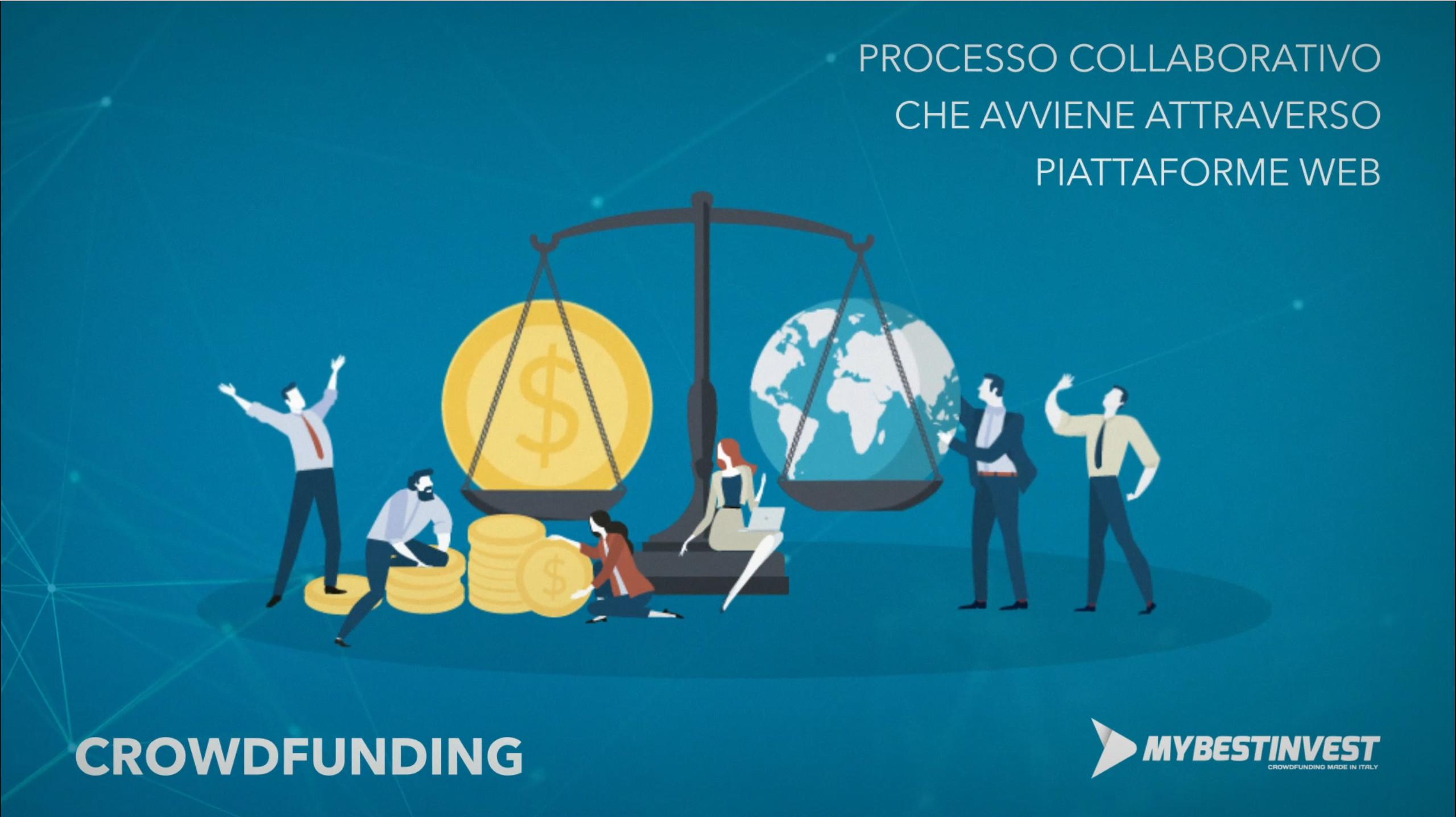 Processo collaborativo che avviene attraverso piattaforme web